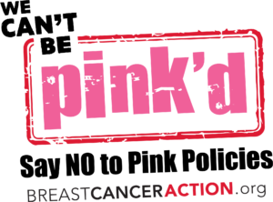 The 2020 Think Before You Pink Logo