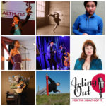 Acting Out 2017 performer collage